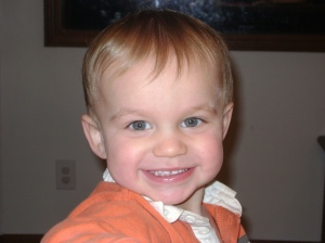 Gage 18 months, age of diagnosis
